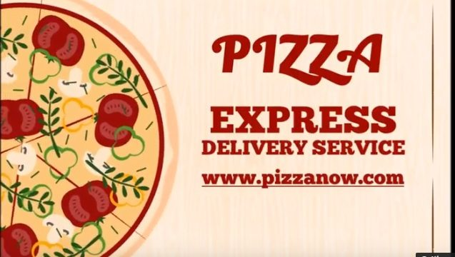Pizza Promotion animated video template