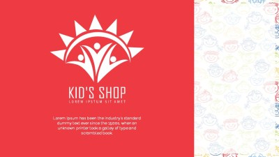 Kids Shop video Template
