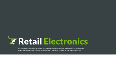 Electronics Retail video Template