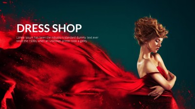 dress shop video template